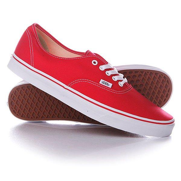 Кеды низкие Vans Authentic An Red