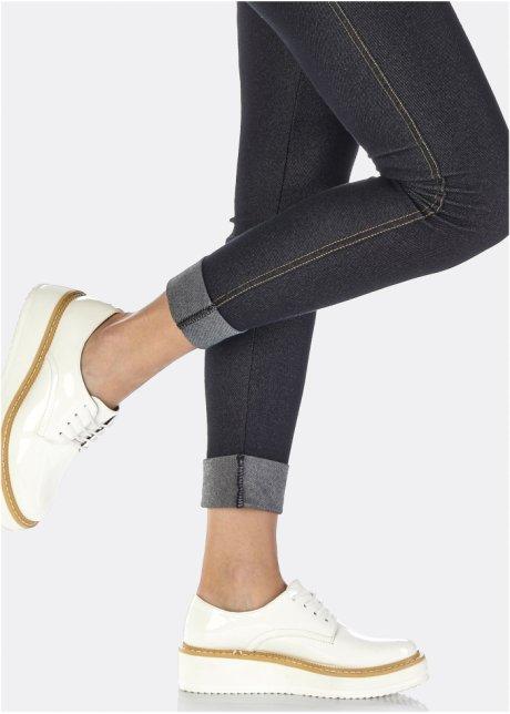 Туфли на платформе, шнуровка