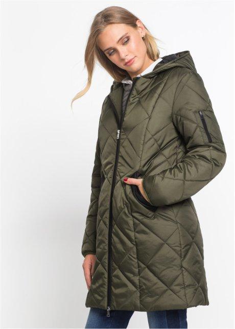 Куртка стеганая, двухцветная