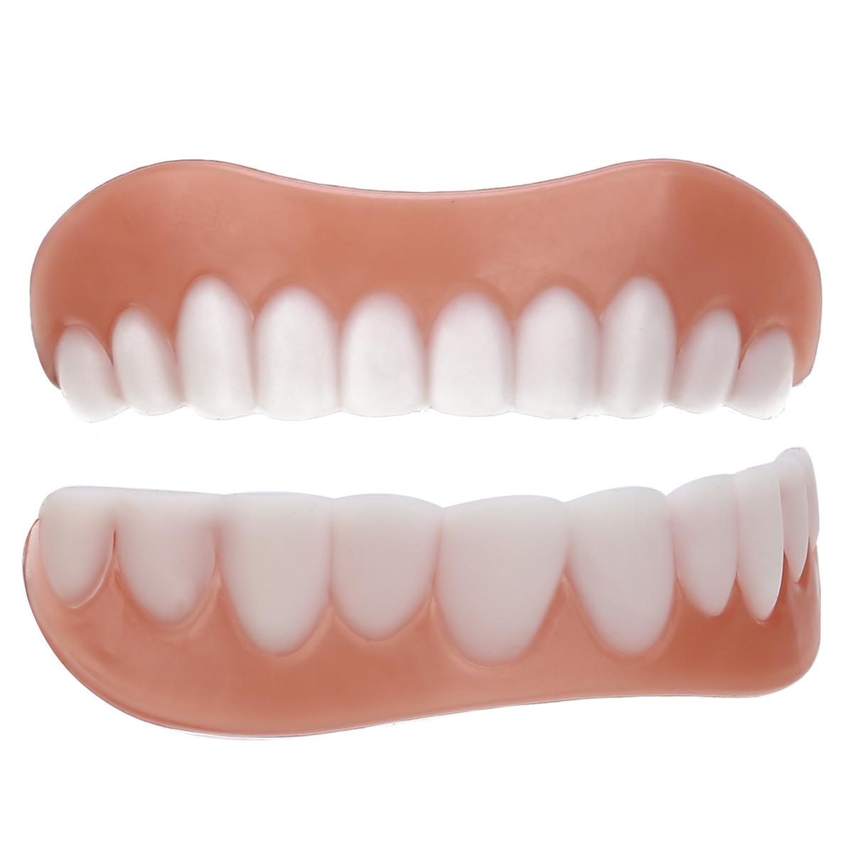 Силиконовые накладные зубы