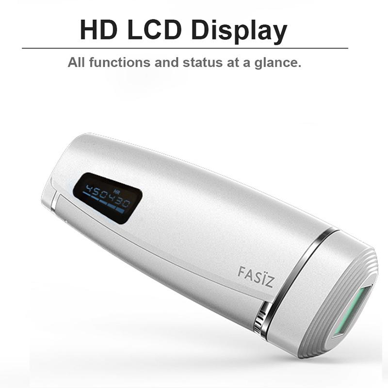 Neueste 600000 Flash IPL Epilierer Dauerhafte Haar Entfernung LCD Display depilador eine laser Bikini Trimmer Photoepilator