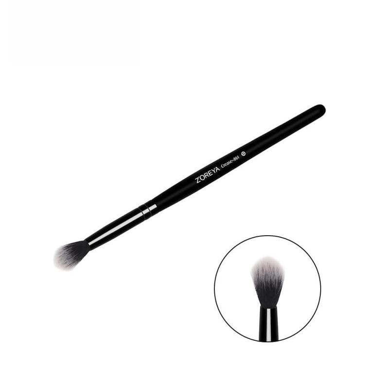 Lange-holz Behandelt Pinsel Lidschatten pinsel Make-Up Werkzeug Großhandel schnelle lieferung a18